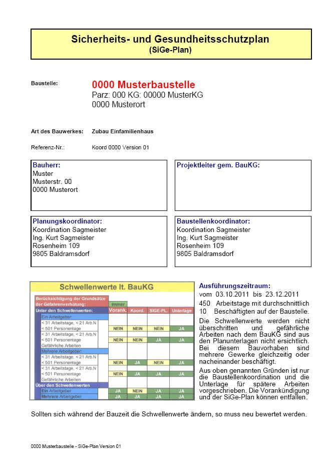 Arbeitsschutz Umweltschutz Und Baustellenordnung 1